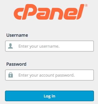 How to access cPanel or hosting control panel?
